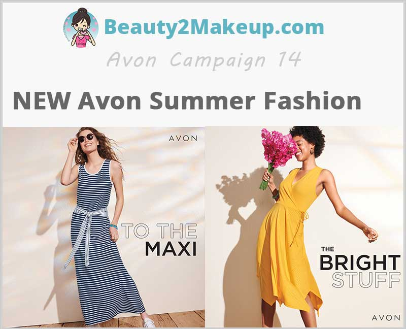 Avon Summer Fashion Collection