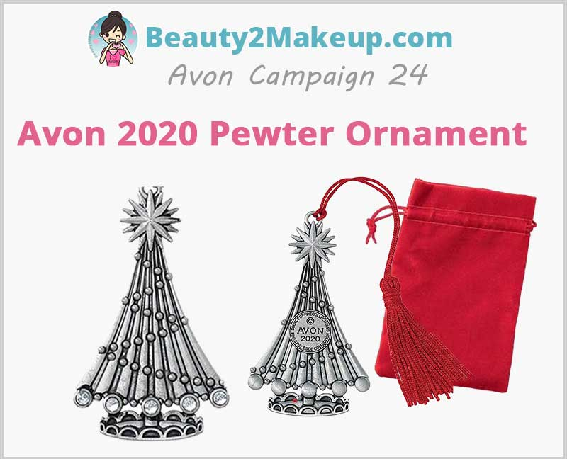 Avon-2020-Pewter-Ornament