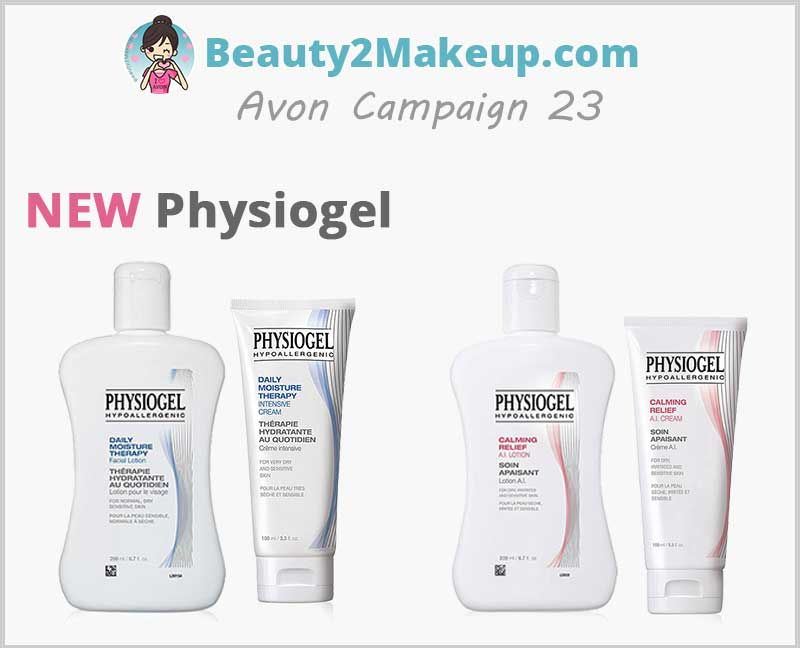 Avon Campaign 23 features Avon-Physiogel
