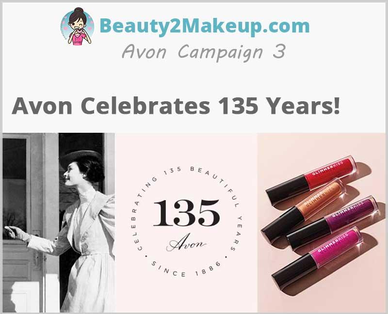 Avon Celebrates 135th Anniversarry