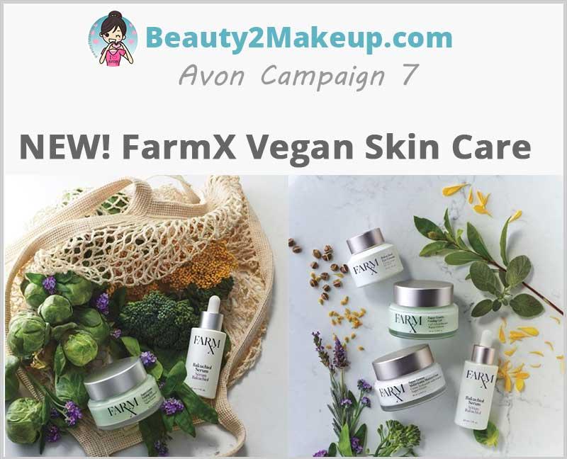 Avon-FarmX Vegan Skin Care