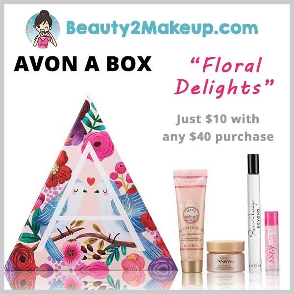 Avon Floral Delights Abox