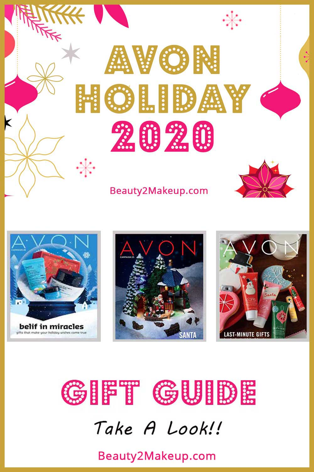 Avon Holiday 2020 Christmas Gifts & Home Decor