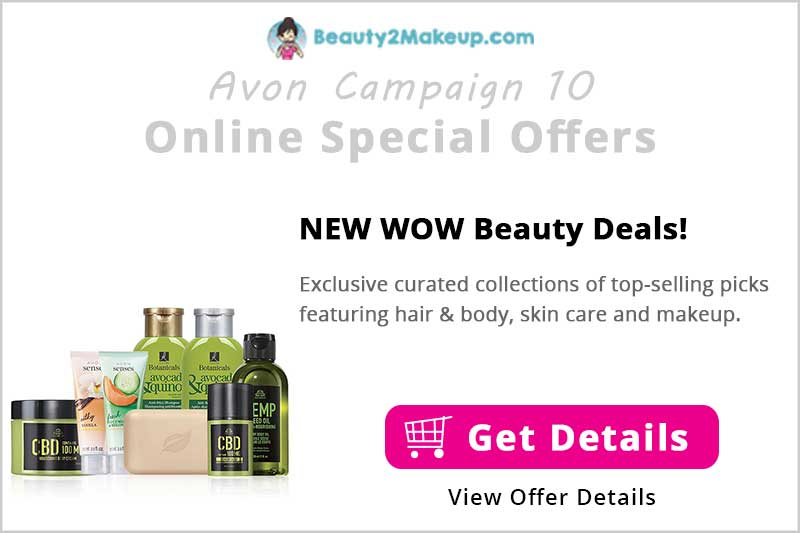 Avon Wow Beauty Deals