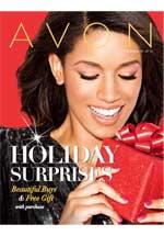 Avon C25 Christmas Flyer 2013