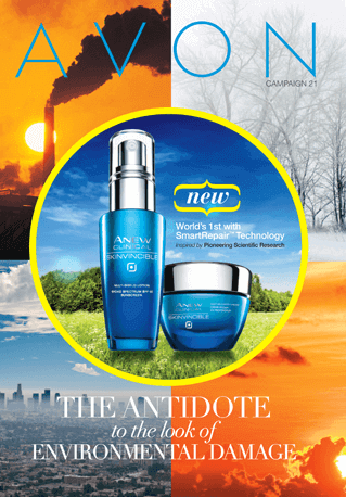 Avon Catalog Brochure Highlights