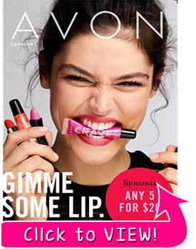 Take a look at the Most Recent Avon Catalog